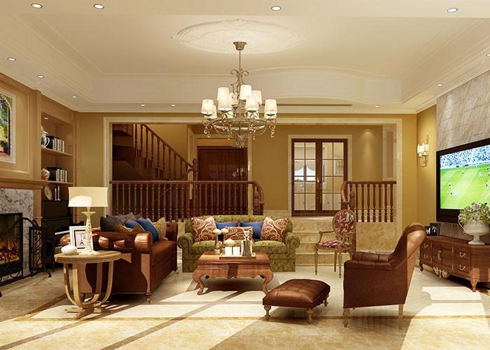 360平米别墅装修客厅效果图