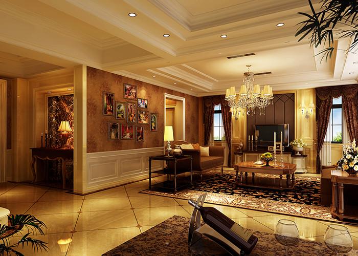 350平米别墅装修客厅效果图