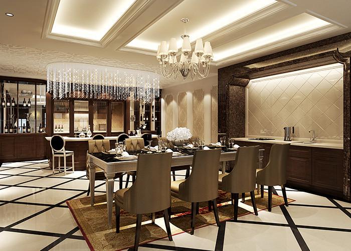 500平米别墅装修客厅效果图