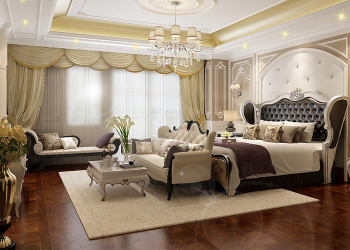 380平米别墅装修客厅效果图