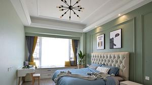 石膏板吊顶效果图,打造个性化卧室空间-深圳家装公司