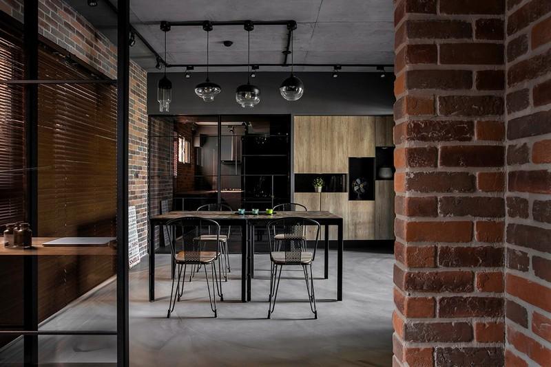 92平米装修风格图片-餐厅