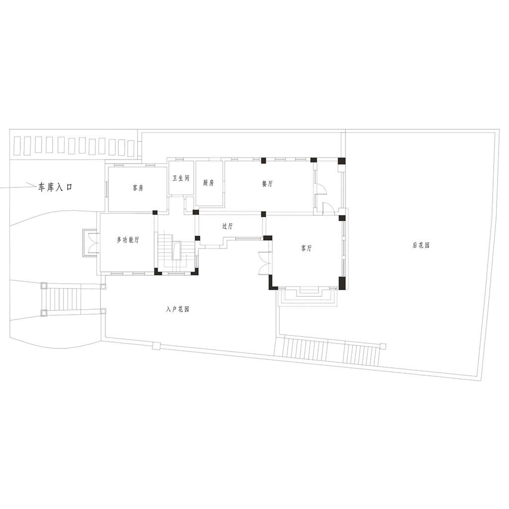 麓山国际碧湖岸700㎡别墅欧式奢华风格装修设计理念