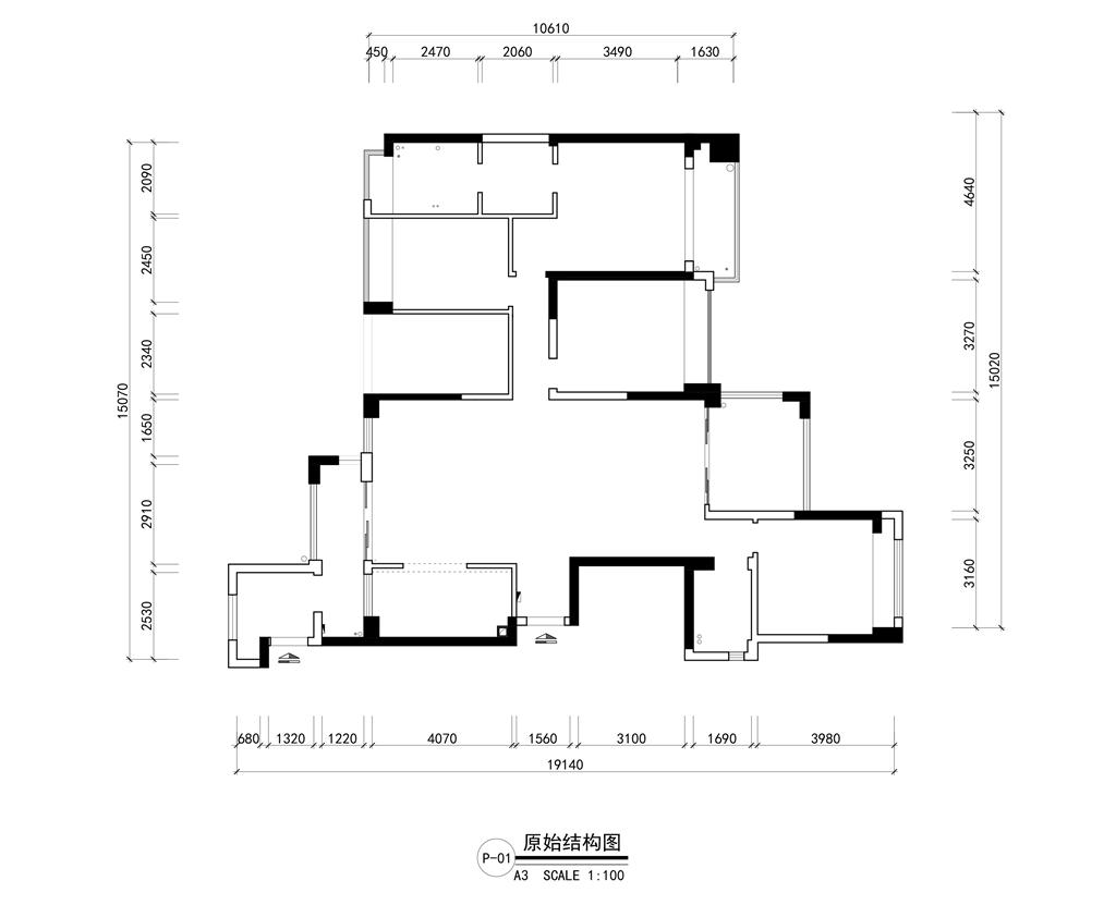 中洲中央公园  现代前卫装修效果图 194平米 四房两厅装饰设计装修设计理念