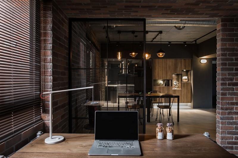 92平米装修风格图片-书桌