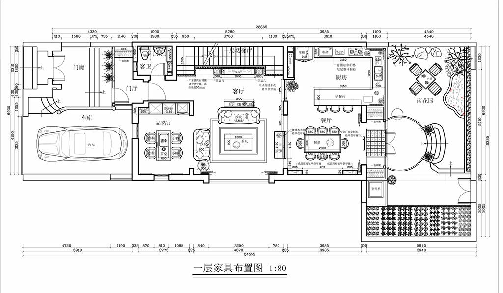 燕西台-430平米-欧式新古典风格装修设计理念