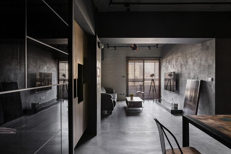 92平米装修风格图片-客厅