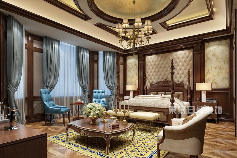 美式别墅装修风格效果图