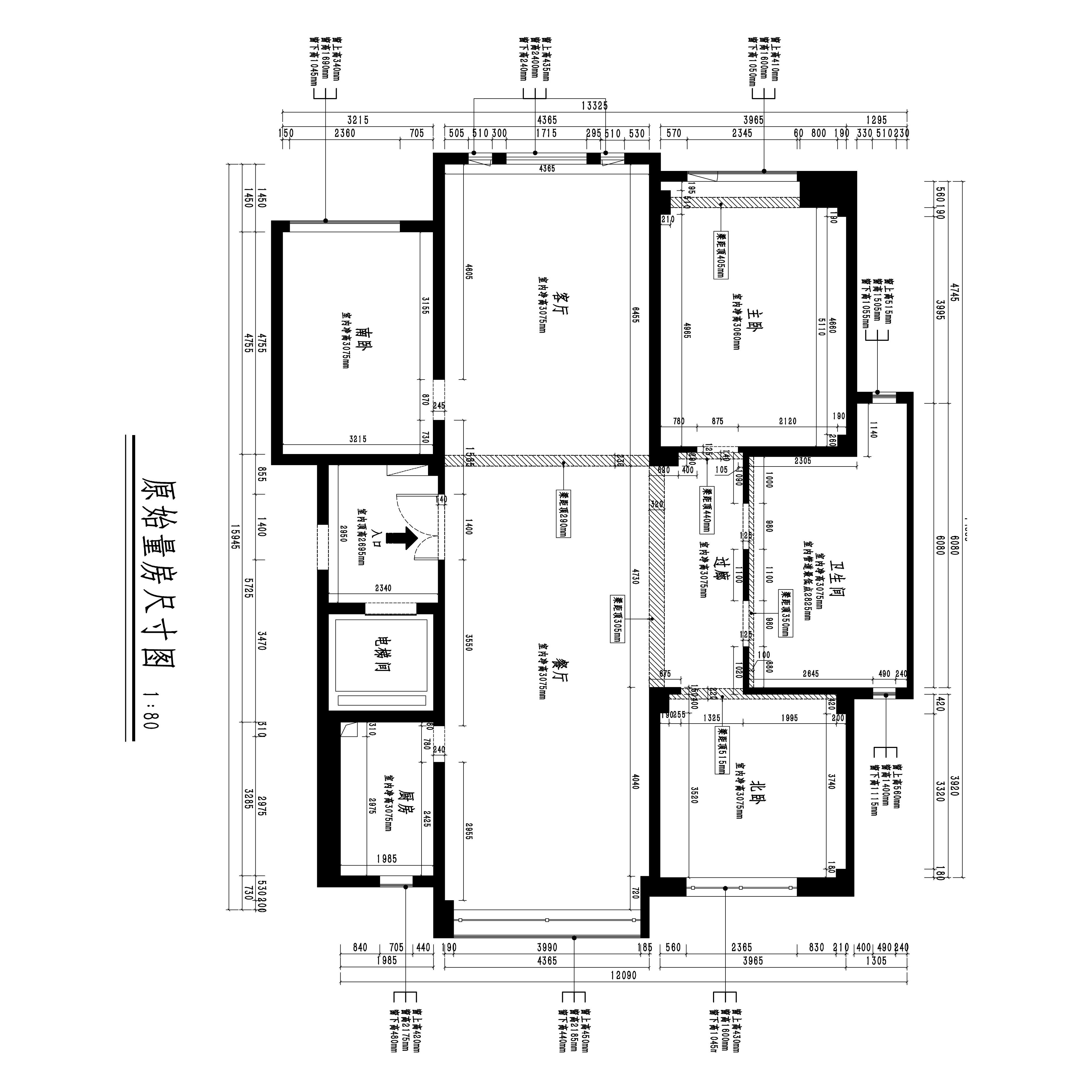 秀月麒林-新中式-165平装修设计理念