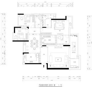 水岸星城-东南亚风格-220平米-四室两厅