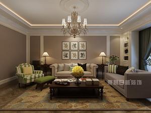 东易日盛高端室内设计作品,体验美式优雅与尊贵