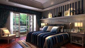 230平米地中海别墅装修设计,不失高雅格调