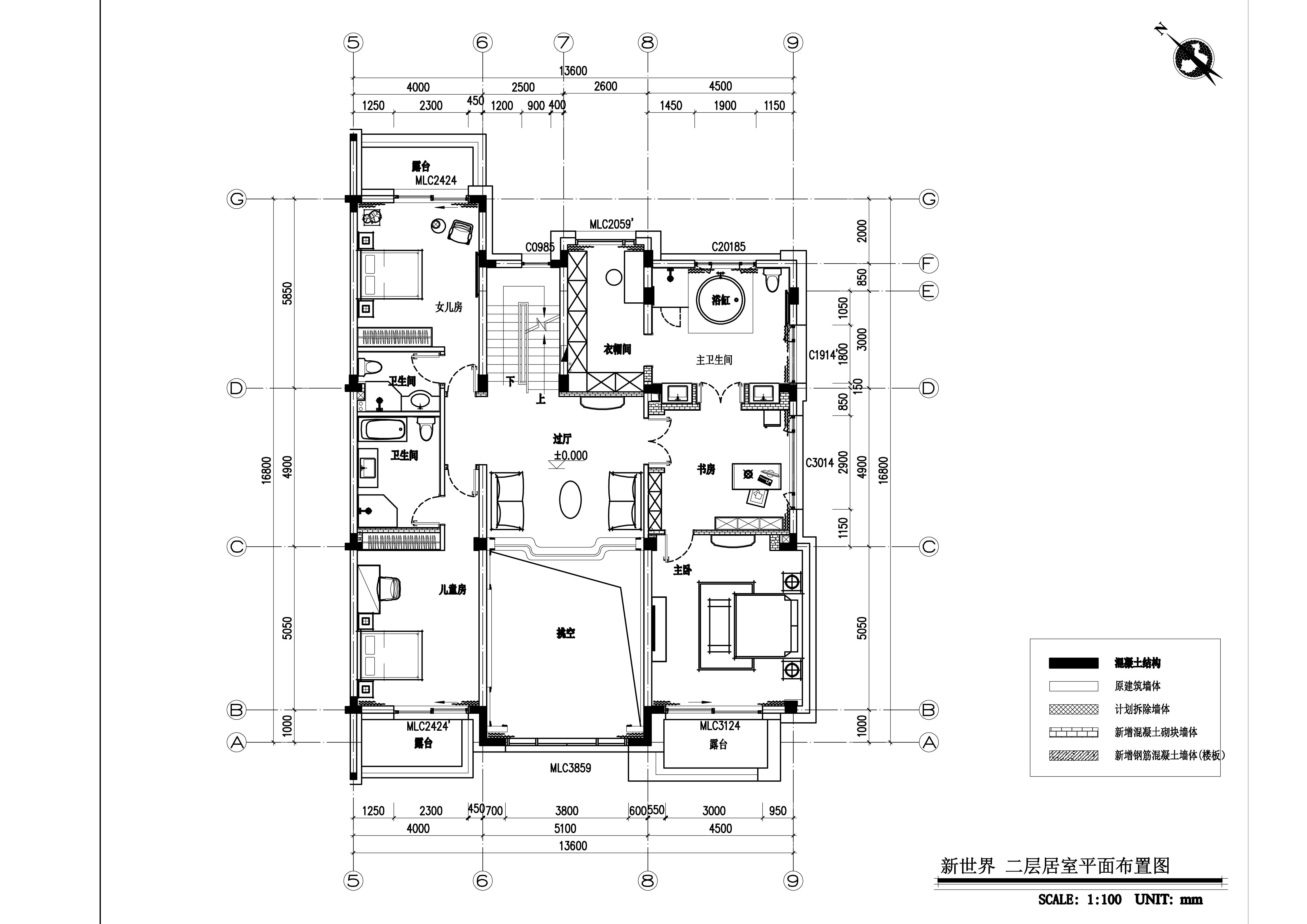 新世界名铸湾畔570平美式风格案例装修设计理念