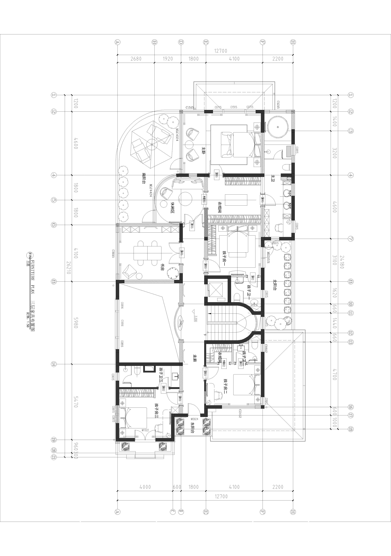 龙游公馆-法式-1000㎡装修设计理念