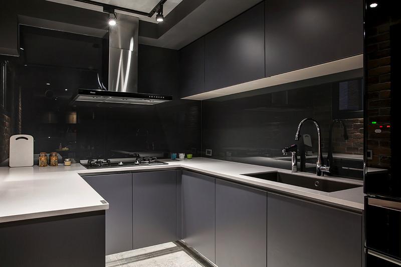 92平米装修风格图片-厨房
