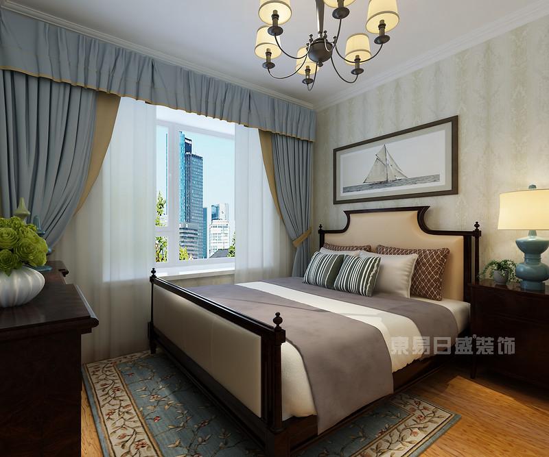 卧室 窗帘_小户型装修案例