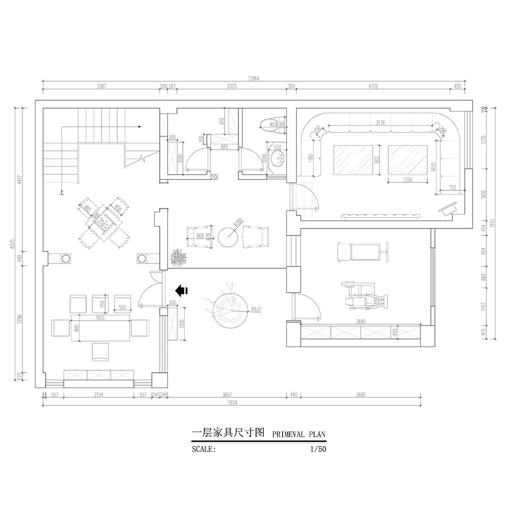 野鸭湖 欧式古典风格装修效果图 别墅 380㎡装修设计理念