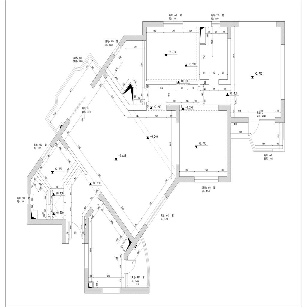 【实景图】永新花苑-现代简约-175平米装修设计理念