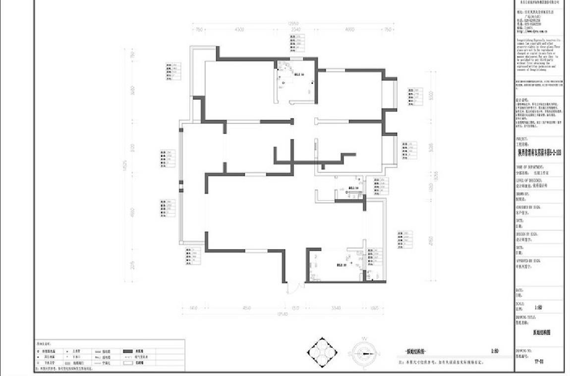 苏园丰景 美式装潢成果图 三室两厅 180m/2 策划师王浩装潢策划愿景