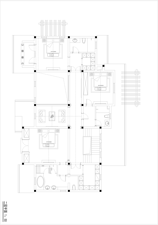 龙游公馆-简欧-350㎡装修设计理念