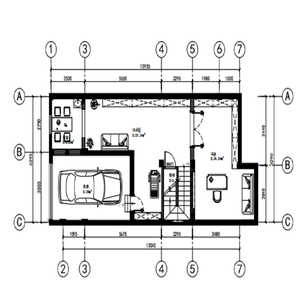 上海长泰东郊御园328平中式性状style装潢案例成果图装潢策划愿景