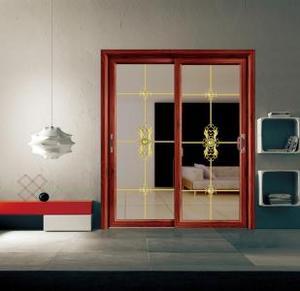 新中式铝合金门窗设计