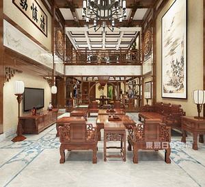 北京中式别墅装修