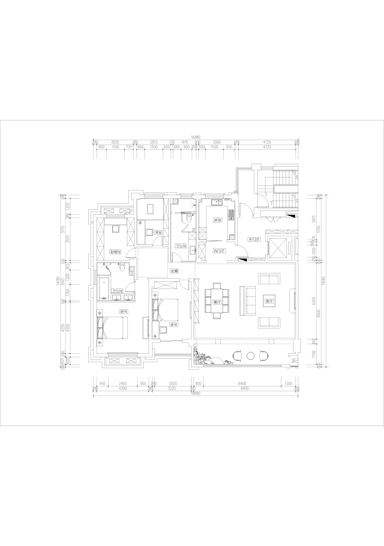龙游公馆-280m²-欧式装修设计理念