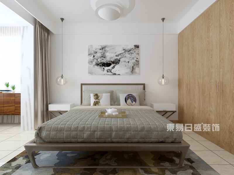 110平米新房装修设计——现代简约