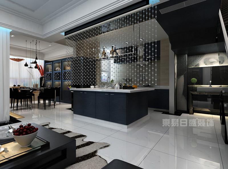 海铂紫庭 现代简约风格装修效果图 两室两厅一厨两卫