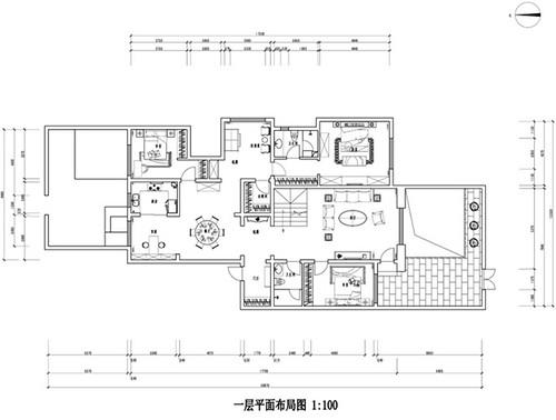 远洋公馆_现代简约_250平装修设计理念