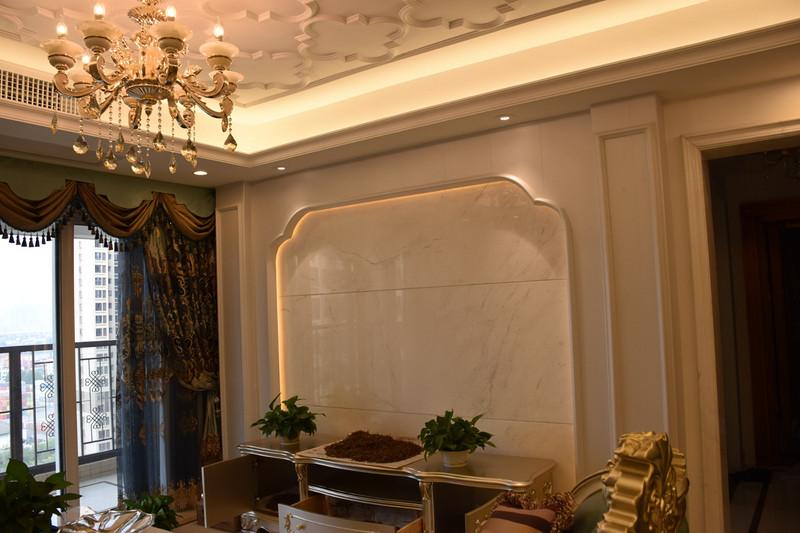 东易日盛精装房改造客厅效果图