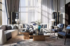 室内家庭装修窗帘纯棉好还是亚麻好