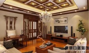 佛山新中式室内装修效果图赏析:中式风情的奢华演绎