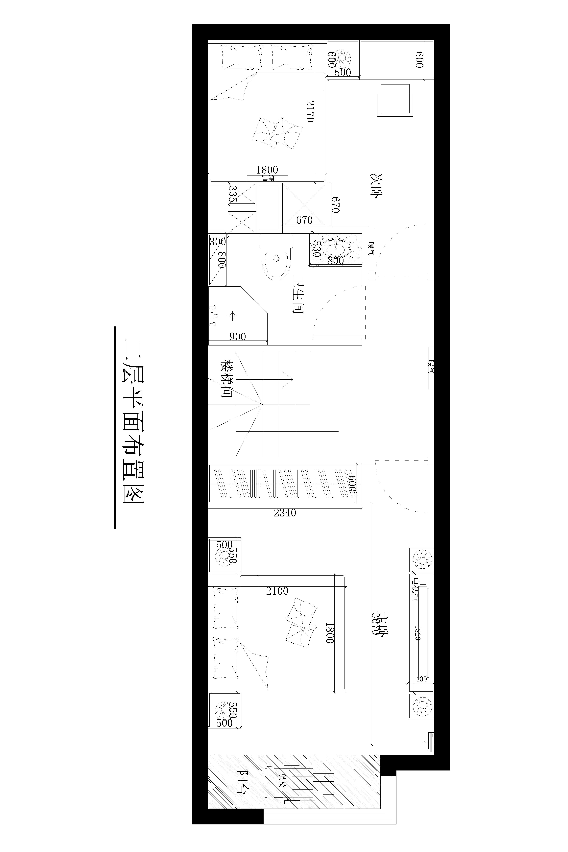 小悦中心-现代风格-71平米装修设计理念