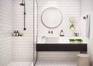 重庆卫生间瓷砖颜色如何搭配,卫生间瓷砖挑选技巧有哪些
