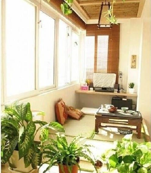 阳台创意设计,阳台不在局限于晒衣服
