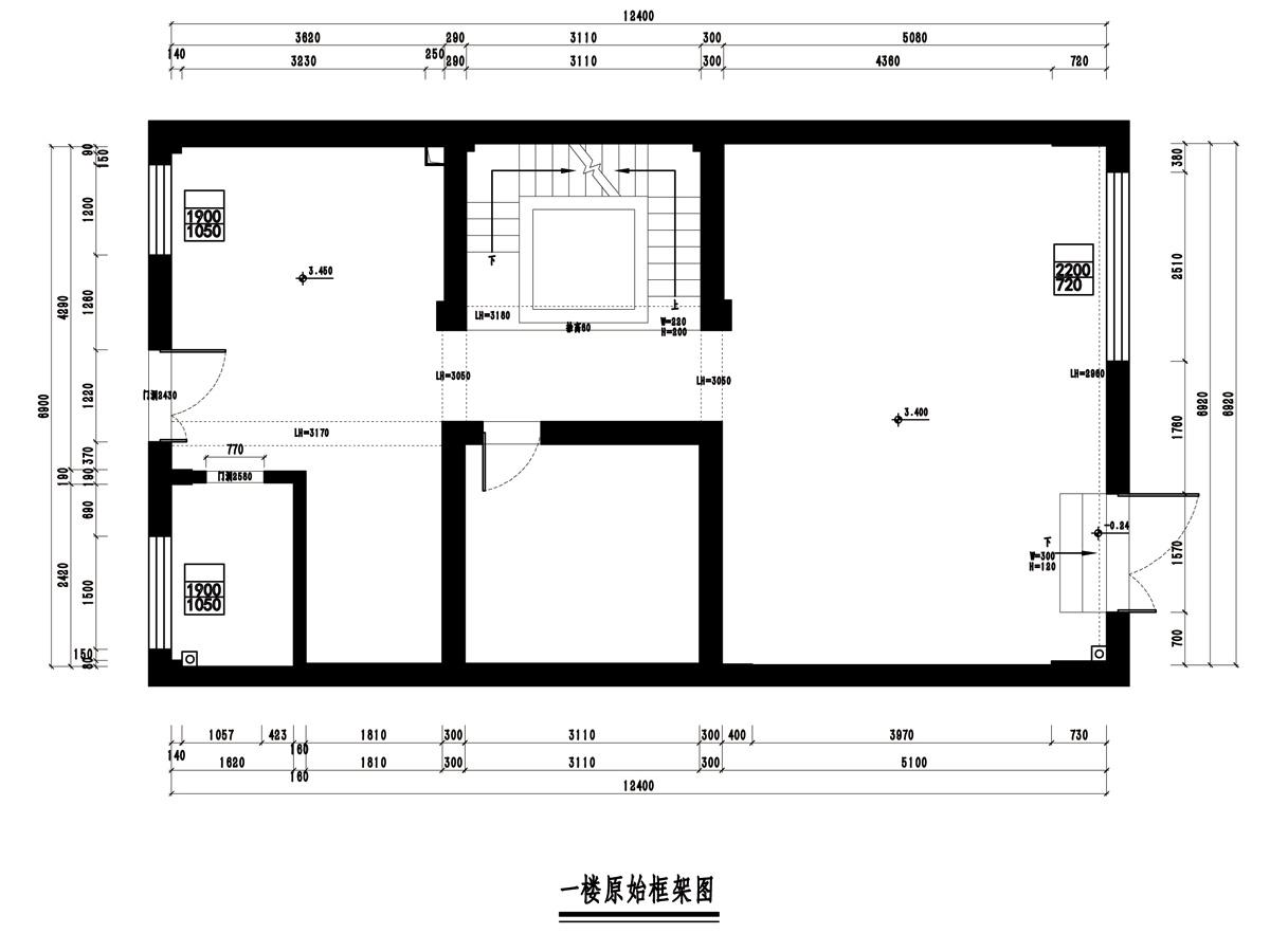 银亿东岸别墅450平方新中式风格装修设计理念