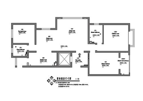 国信嘉园美式风格145平米装修效果图装修设计理念