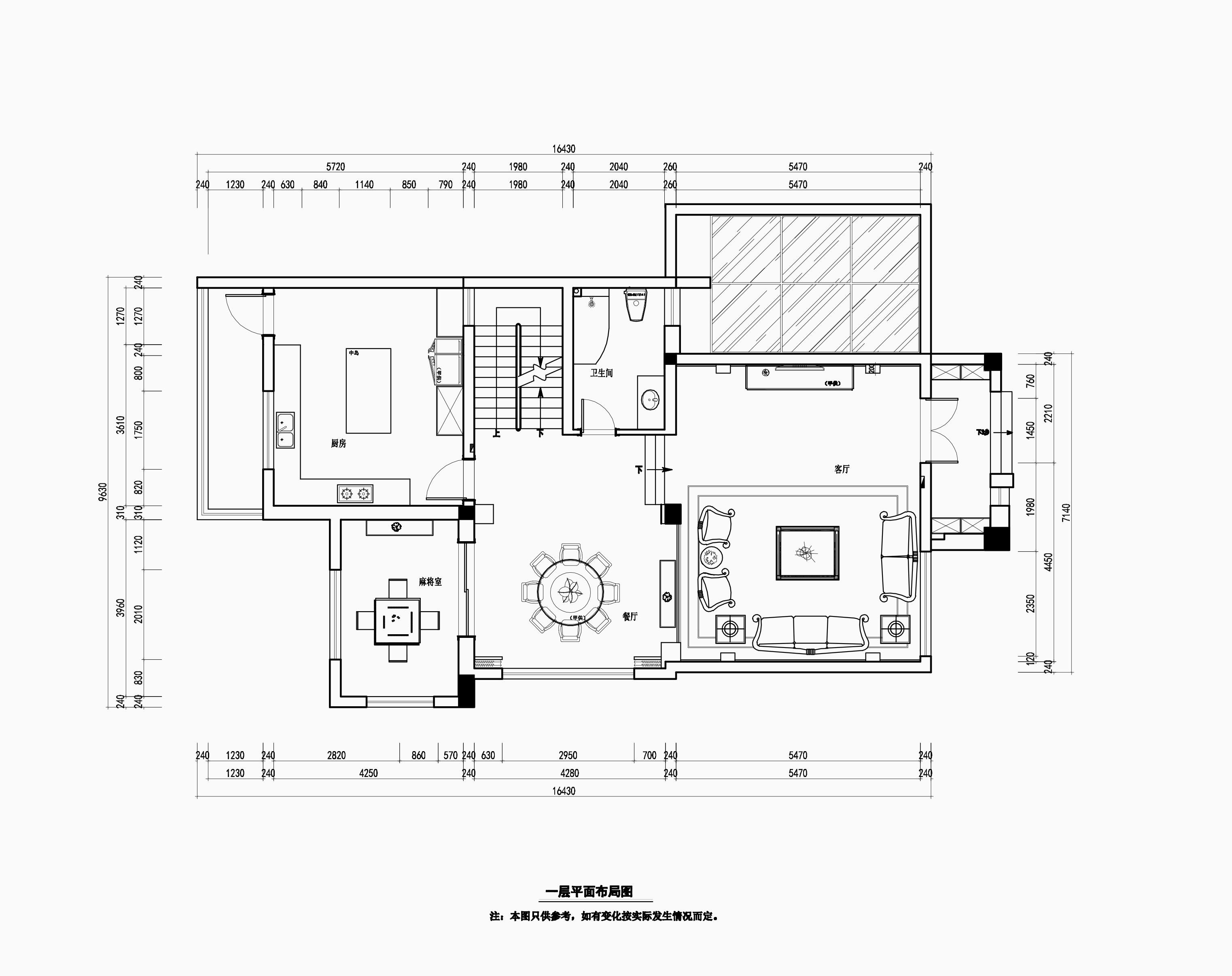 阳光水世界320㎡欧式古典风格装修效果图装修设计理念