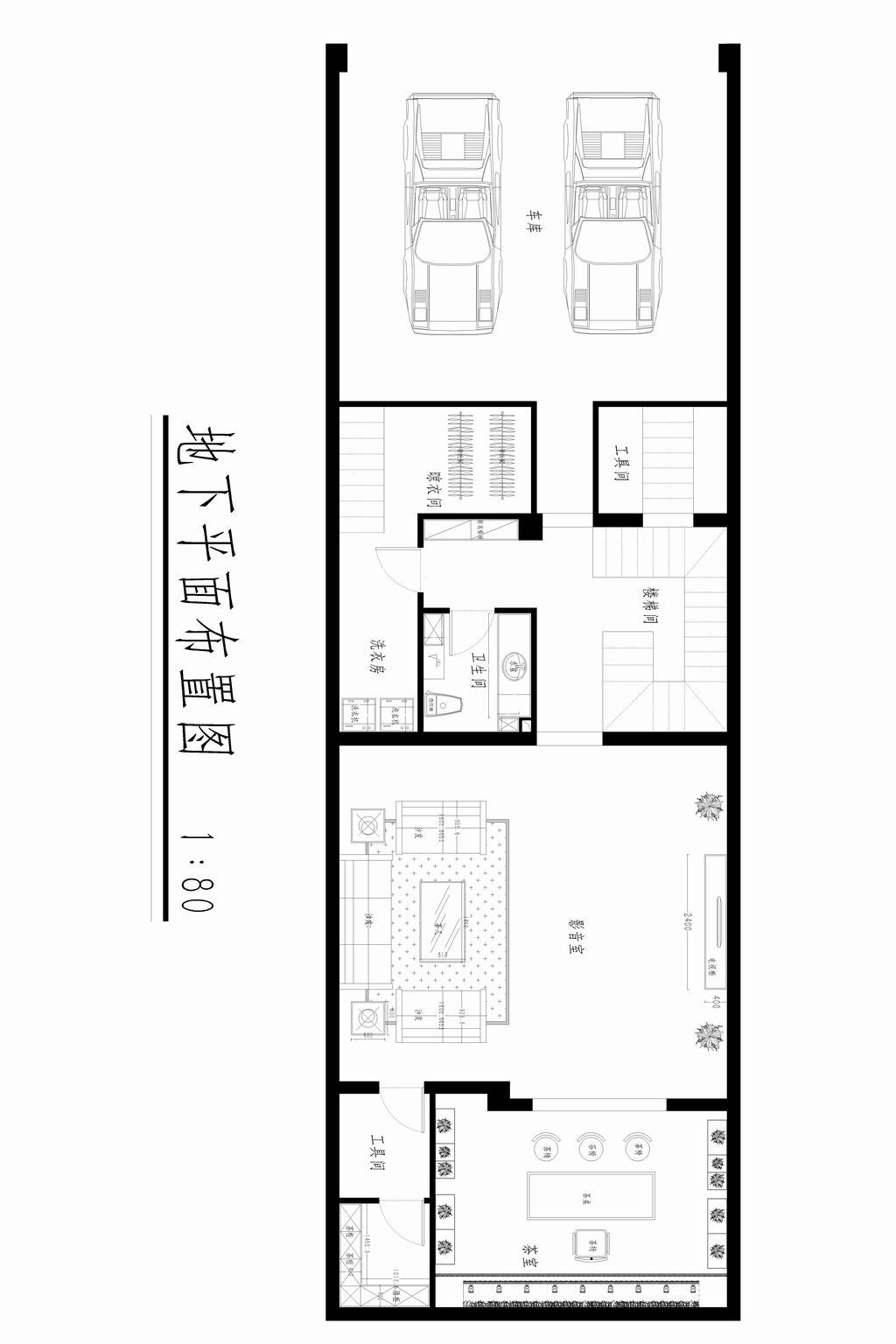 孔雀城大学里-东南亚风格-444平米装修设计理念