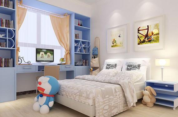 儿童房装修设计,装修设计攻略,重庆东易日盛