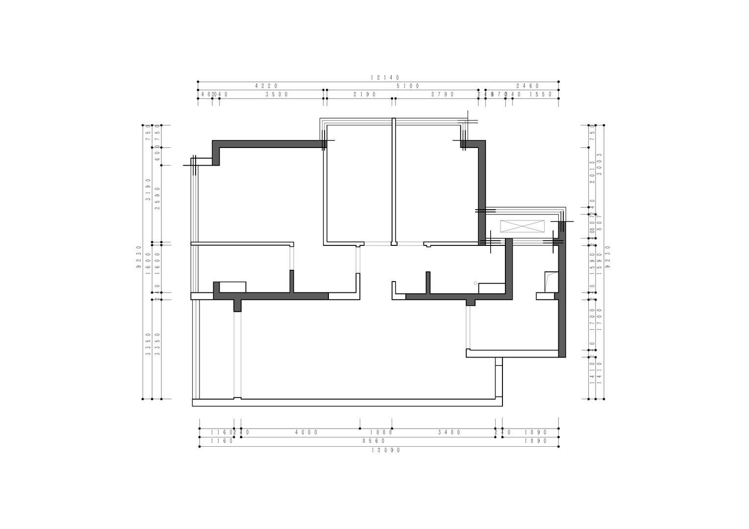 御景峯-111m/2装潢-美式性状style策划案例装潢策划愿景