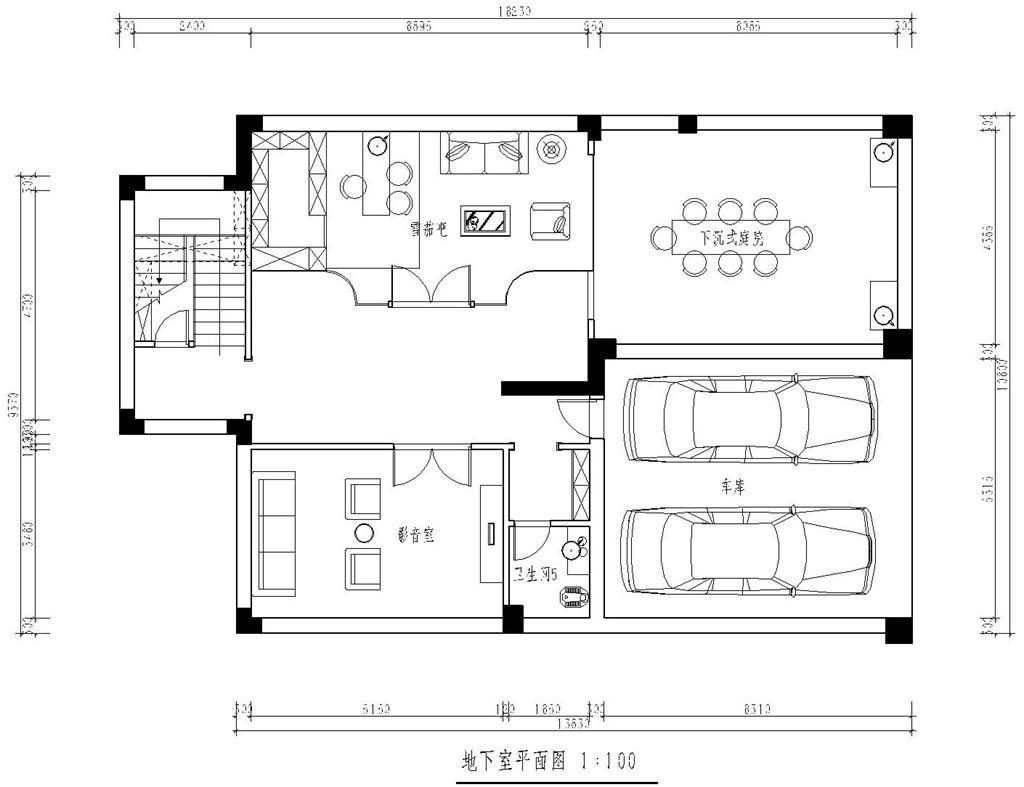 华侨城叠拼别墅现代简约装修效果图装修设计理念