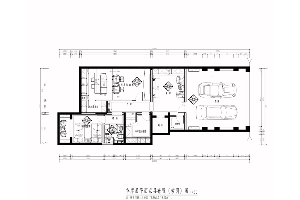 千章墅-美式乡村-180㎡装修设计理念