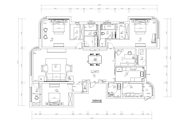 明秀山庄-新古典-238平装修设计理念