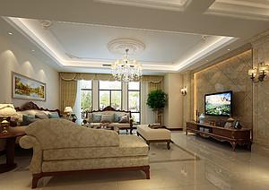 白桦林间 古典欧式风格 180平米