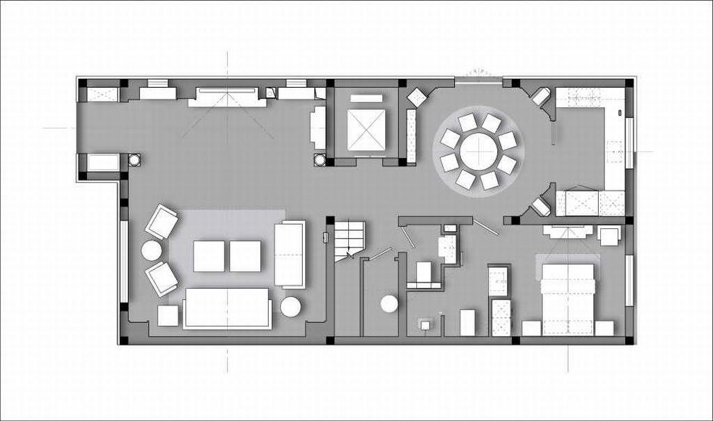 光明山公寓-简欧-310平米装修设计理念