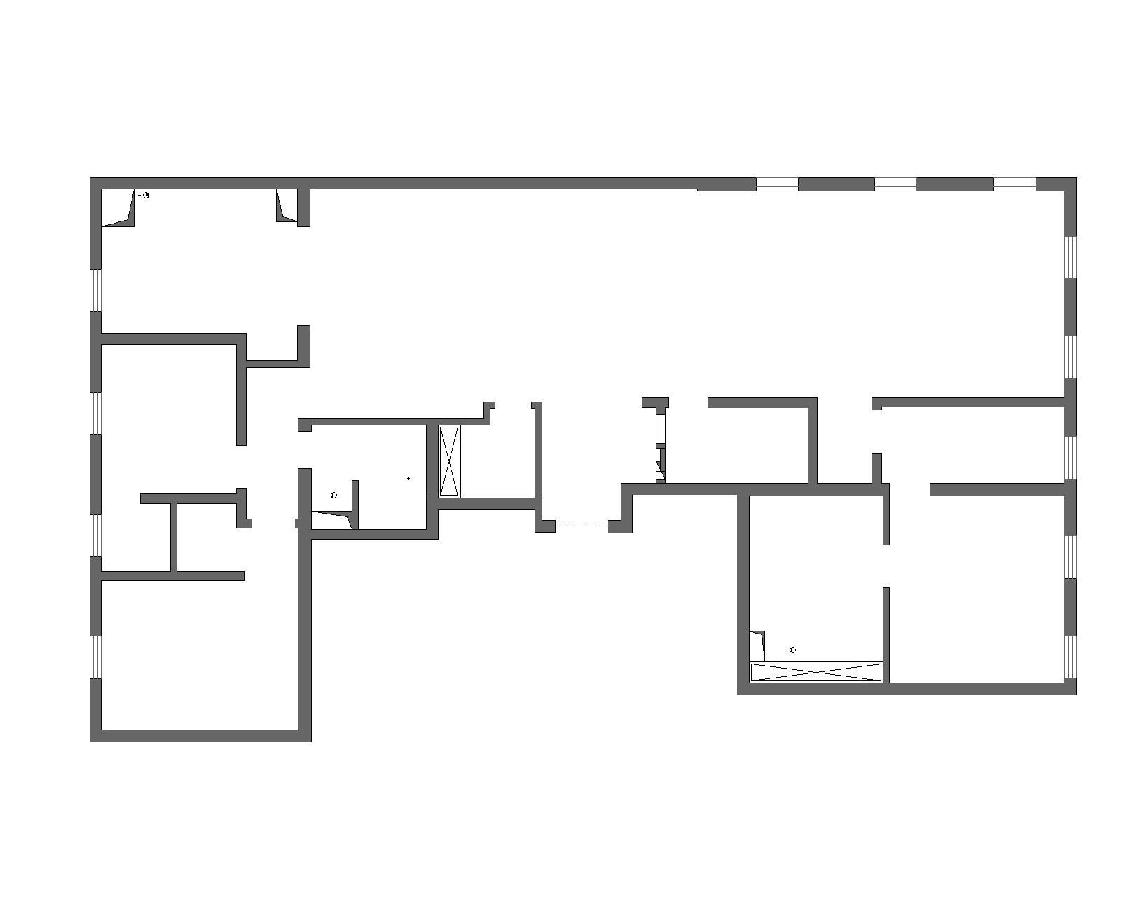 万国城MOMA现代简约240平米装修效果图装修设计理念