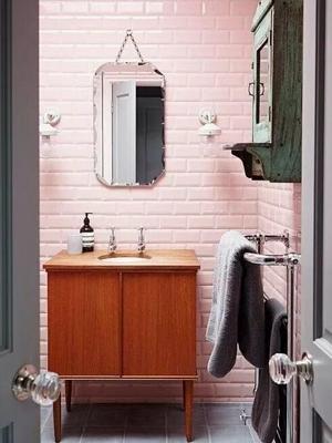 家庭装修卫生间墙砖怎样搭好看?